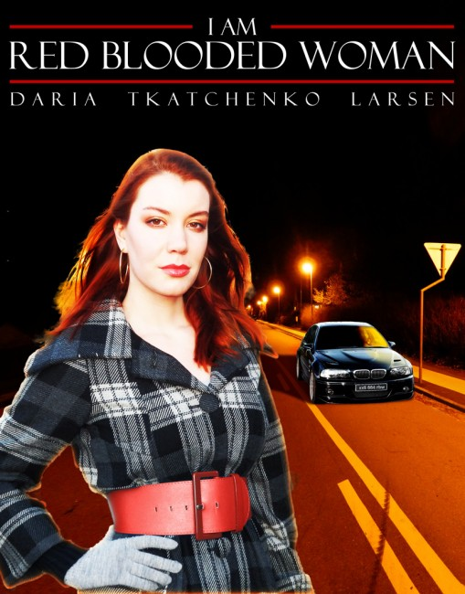 I Am Red Blooded Woman Book Cover